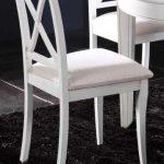 silla salon comedor tapizada
