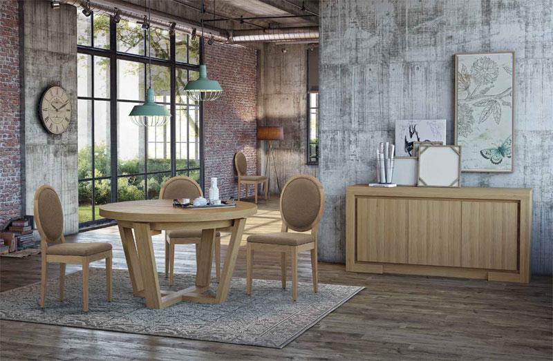 Mueble de comedor diseño roble   Artesania y Decoración   Blog
