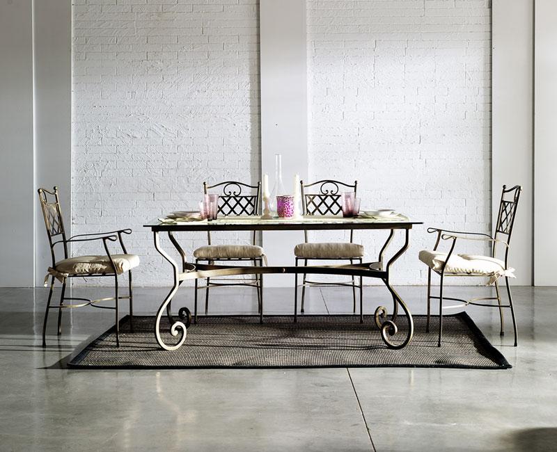mesa de comedor forja | Artesania y Decoración | Blog