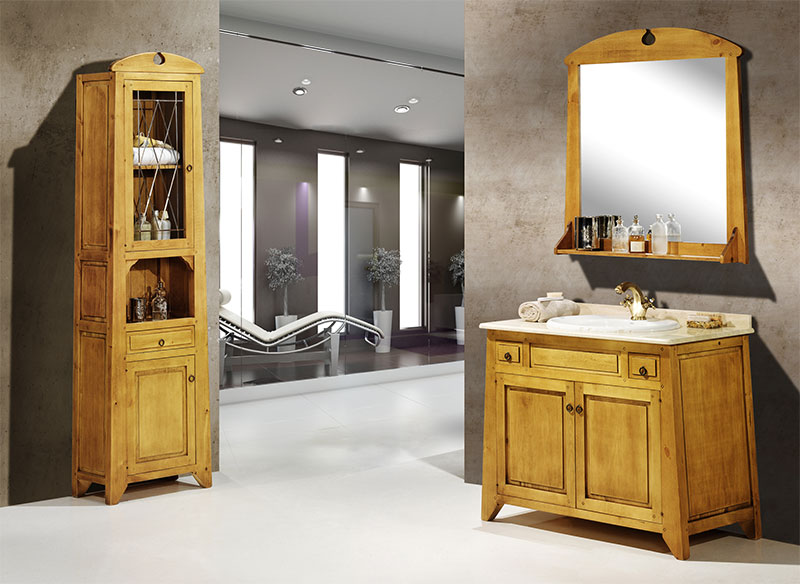 100 muebles para bano rusticos yasminroohi for Muebles rusticos de madera para banos