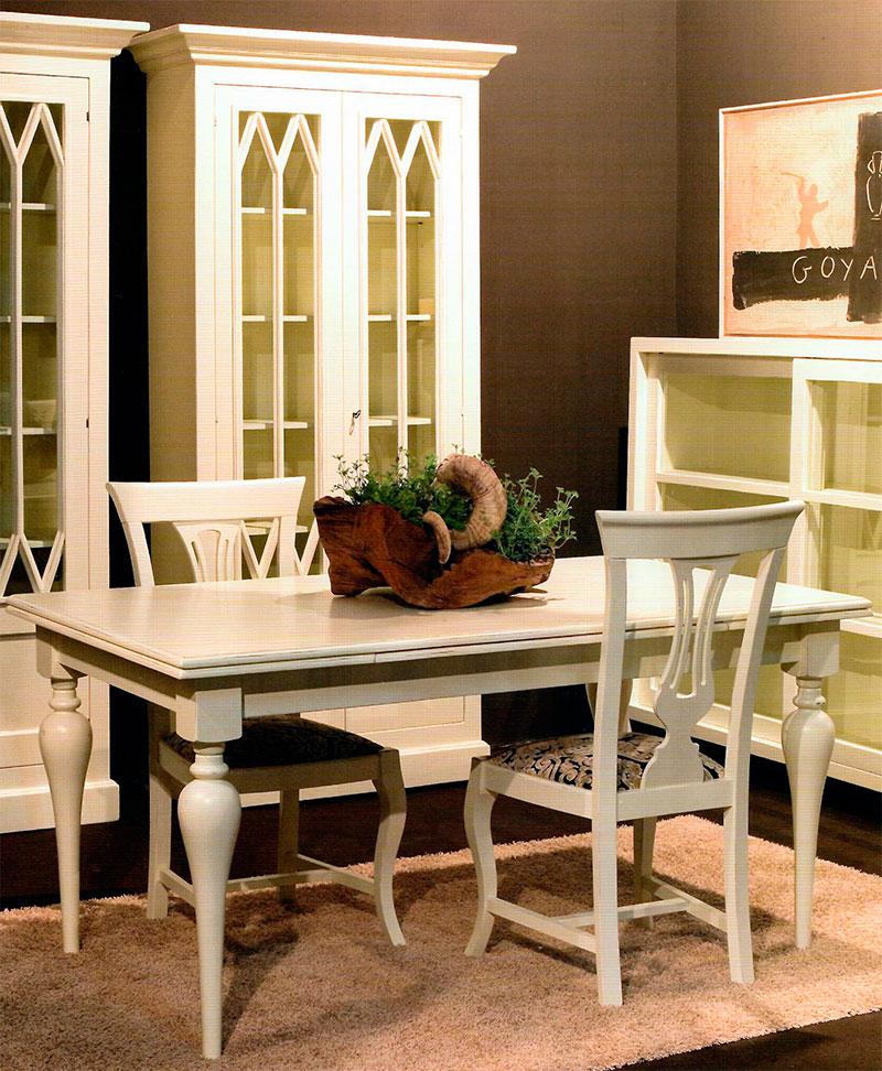 Muebles comedor blancos | Artesania y Decoración | Blog