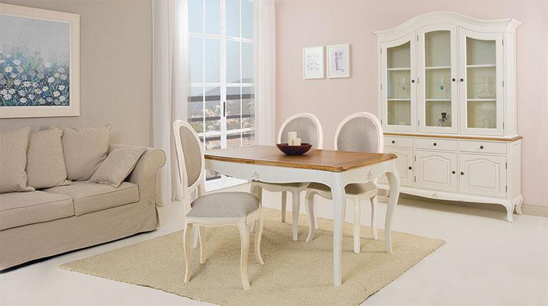 muebles clasicos vintage blanco | Artesania y Decoración | Blog