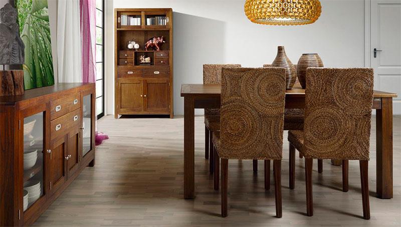 muebles para el salon estilo colonial