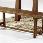 Banco bodegero rustico madera maciza serie Lagar se fabrica en 7 tamaños
