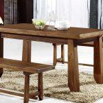 mesa comedor extensible en 4 tamaños serie rustica lagar