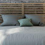 Cabecero para cama en madera de roble natural con acabado en 7 colores disponible para cama de 90, 135 y 150 cm