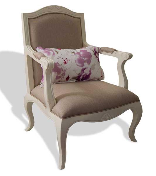 Sillon tapizado clasico paris