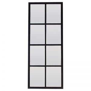 Espejo ventana de forja