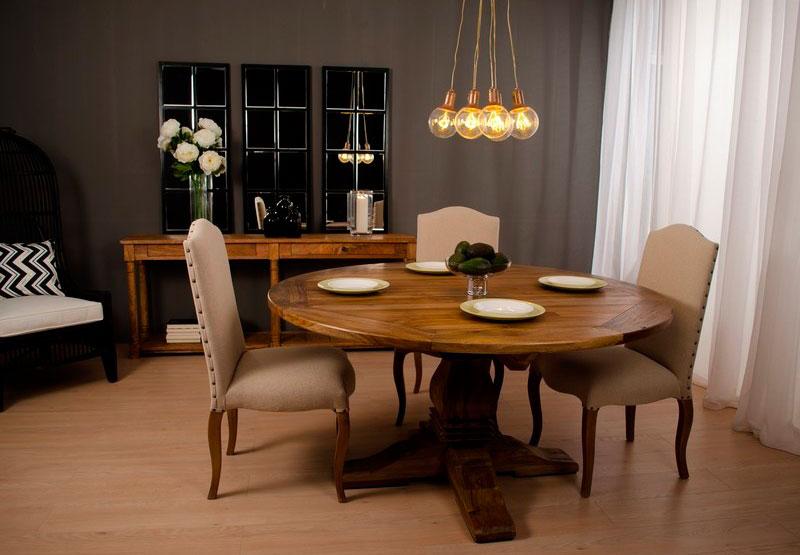 Salon comedor estilo provenzal rustico