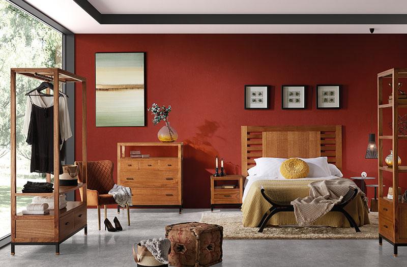 Dormitorio completo serie Madhu de moycor