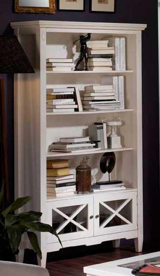 Librerio blanco clasico guru