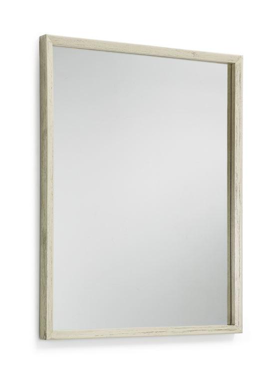 Espejo recibidor salon blanco hueso