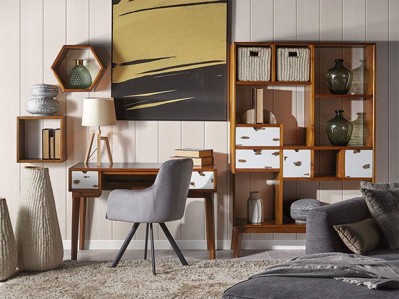 Muebles para el despacho colonial