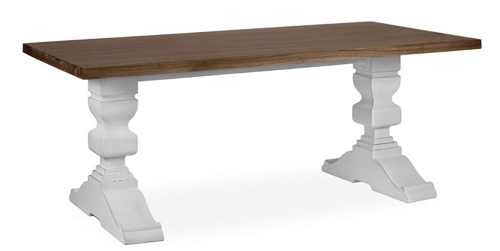 Mesa comedor bicolor Everest