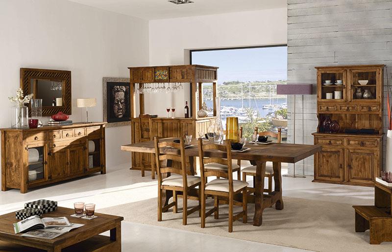 muebles comedor rusticos