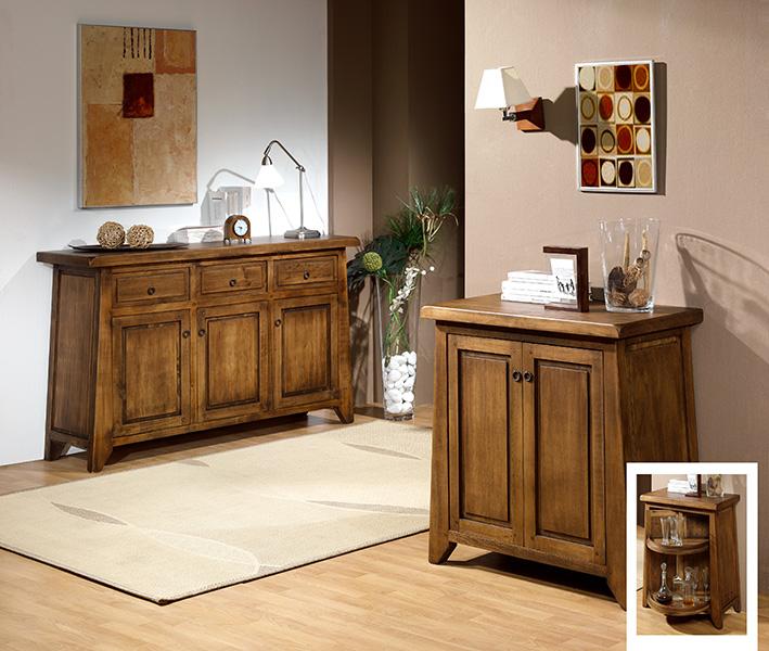 Mueble aparador y mueble bar salon