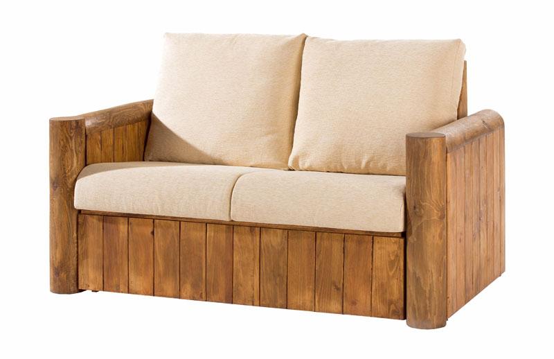 Sofa rustico 2 plazas