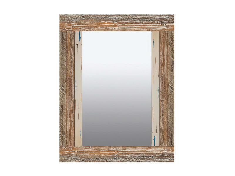 Espejo colores decapados rustico