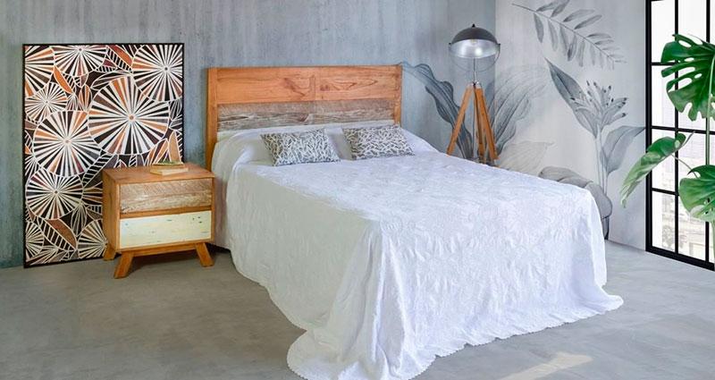 Dormitorio rustico Borneo