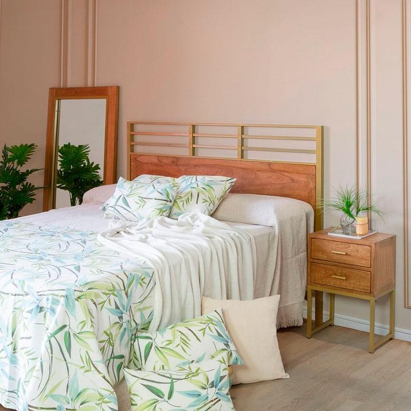 Dormitorio colonial actual