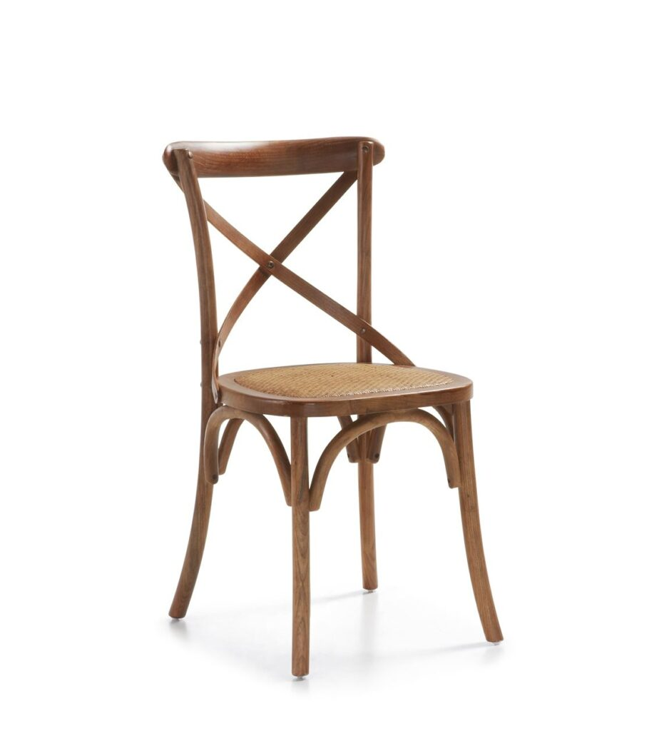 Silla colonial vintage cruces