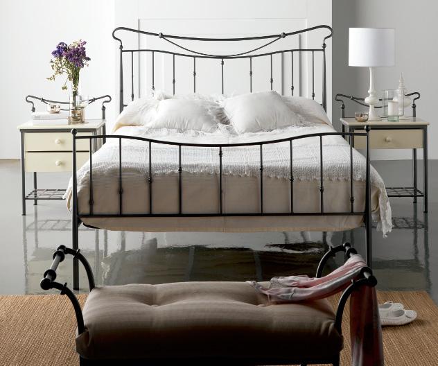Dormitorio forja actual