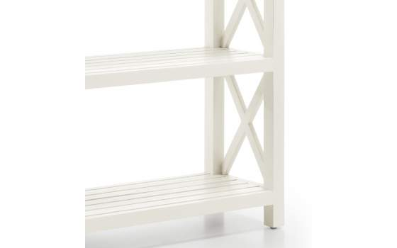 Estanteria Colonial 4 Estantes Blanco Serie New White