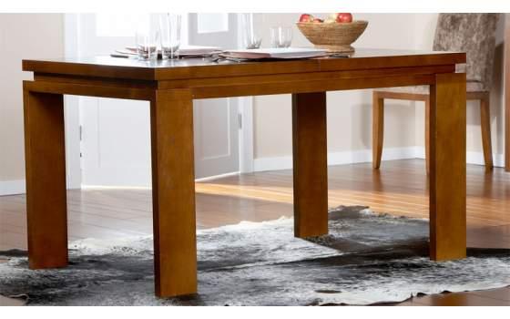 Mesa salon comedor 3 tama os extensible moderna for Mesas pequenas extensibles comedor