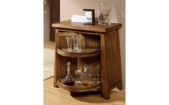 Mueble bar giratorio rustico lagar - Mueble bar rustico ...