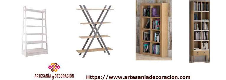 Estanterias y librerias en roble macizo dise os actuales - Estanterias diseno pared ...