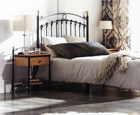 Dormitorios De Matrimonio Estilo Rustico : Cabecero de forja estilo rustico camas de matrimonio