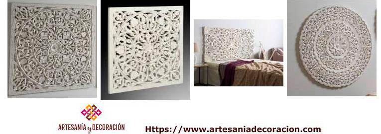 Paneles y cabeceros en madera talladas - Paneles decorativos madera tallada ...