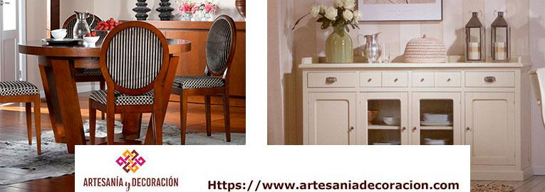 Muebles de comedor estilo colonial alta calidad