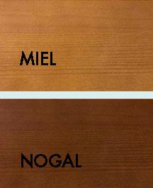 Modula miel composicion 411 conjunto modular de pino for Muebles de pino color miel